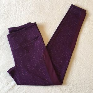 Victoria's Secret Purple Knockout Tight